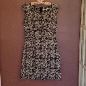 NWT black and white dress